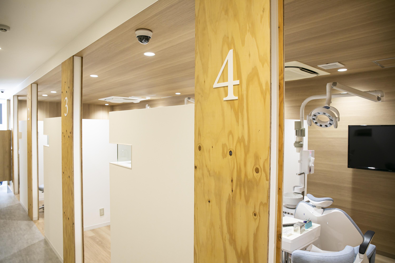 個室またはブース式の診察室